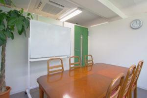 シェアオフィスKOTO-BA会議室